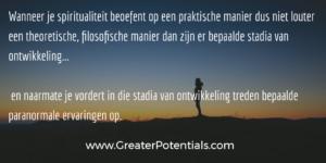 praktische spiritualiteit en spiritueel ontwikkelen